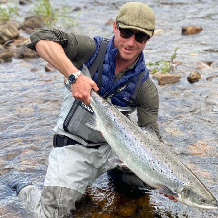 Fishing at Orton